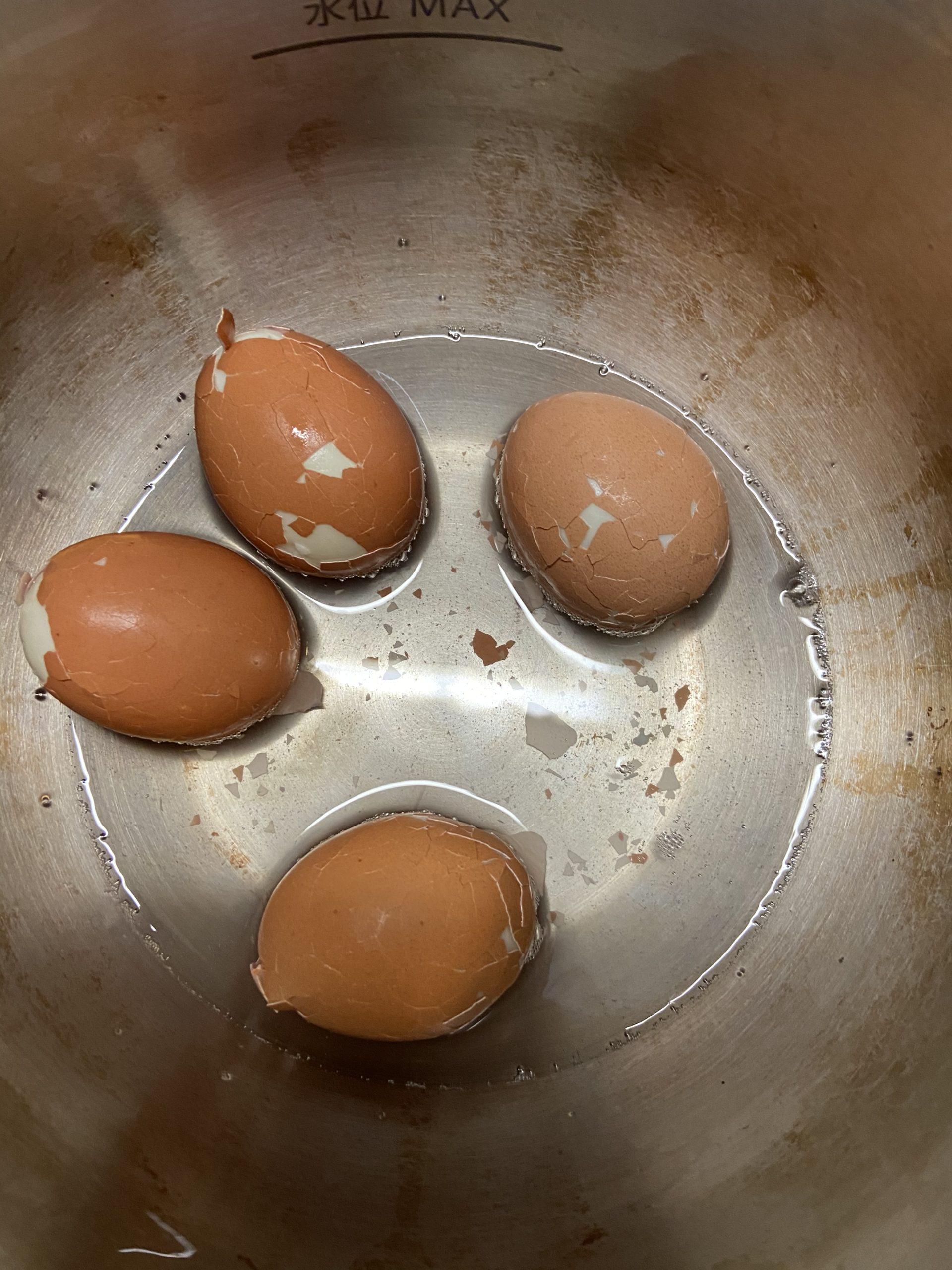 簡単 むく 卵 ゆで に
